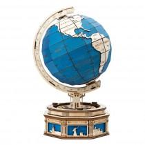 Globus 3D Puzzle Holzbausatz - Robotime ROKR ST002