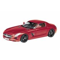Schuco 452585500  - Mercedes Benz SLS rot