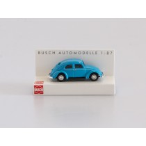 Busch H0 42700-112 VW Käfer mit Brezelfenster hellblau