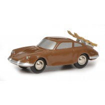Schuco 450550500 Piccolo Porsche 911 Skiurlaub