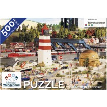 "Puzzle ""Bahnhof Padborg"" 500 Teile von Ravensburger"
