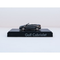 Wiking H0 VW Golf Cabriolet anthrazit Sondermodell