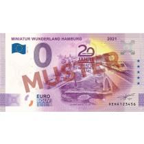 """Euro-Souvenirschein Motiv """"Maintalbrücke"""" (2021-16.2) Anniversary-Edition"""