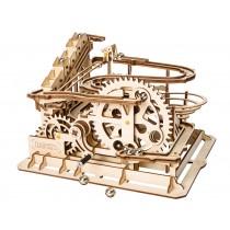 Kugelbahn / Murmelbahn 3D Puzzle Holz Schaufelrad - Robotime ROKR LG501