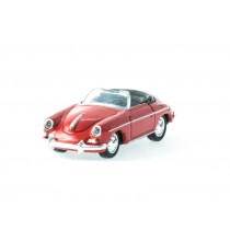 Welly 73106 H0 Porsche 356 (rot)
