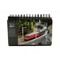 Miniatur Wunderland - immerwährender Kalender - mit 366 Bildern