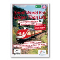 DVD 'A small world, but larger than life' NTSC-System  incl Italy