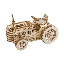Traktor 3D Puzzle Holz - Robotime ROKR LK401