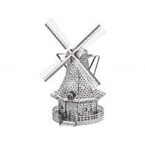 Mini-Metallbausatz Windmühle