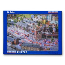 "Puzzle ""Brennendes Finanzamt"" 36 Teile"
