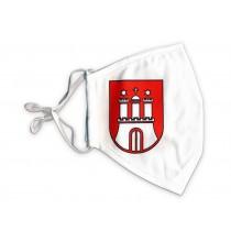 Miniatur Wunderland Mundschutz - Hamburg Wappen groß (Mund-Nasen-Maske / Alltagsmaske)