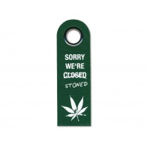 Vorderseite: SORRY WE'RE STONED
