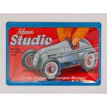 Schuco 450851800 Blechschild Edition #3 Studio