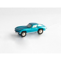 Schuco Piccolo 05660 Chevrolet Corvette Stingray blau metallic