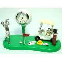Miniatur-Uhr Golf