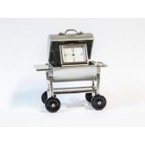 Miniatur-Uhr Grill