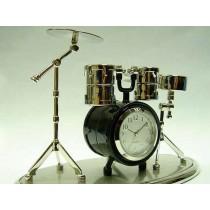 Miniatur-Uhr Schlagzeug
