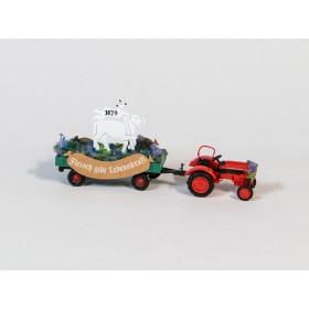 Busch 50001 H0 Traktor Umzugswagen 6von6