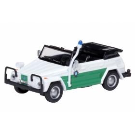 Schuco 26056 H0 VW Typ 181 Polizei