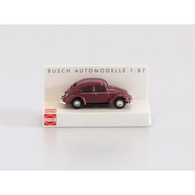 Busch H0 42700-112 VW Käfer mit Brezelfenster weinrot