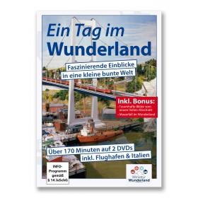 """Wunderland Doppel-DVD """"Ein Tag im Wunderland""""  UPDATE incl. Italien-Abschnitt"""