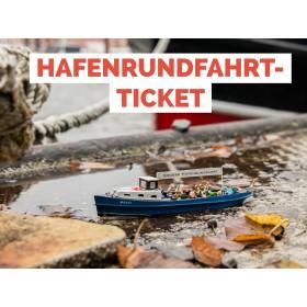 Ticket Hafenrundfahrt Hamburg Kind  (4 -15 Jahre)