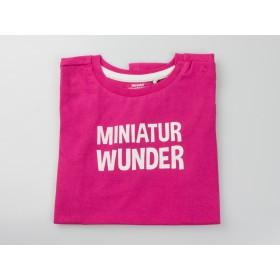 """T:Shirt """"Miniatur Wunder"""" pink"""