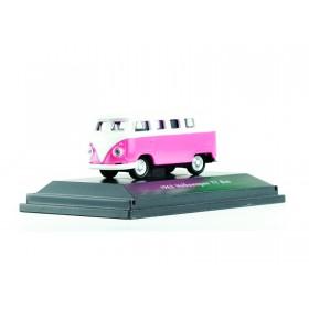"""Welly 73155 VW T1 – pink """"Exklusiv im Miniatur Wunderland"""""""