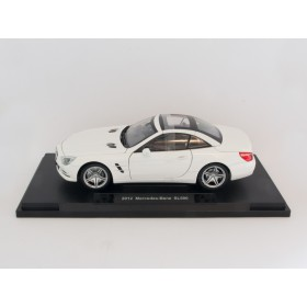 Welly 18046 1:18 Mercedes Benz SL 500 weiß