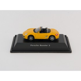 Welly H0 73118 Porsche Boxster S gelb